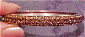 Topaz rhinestone bangle (Image1)