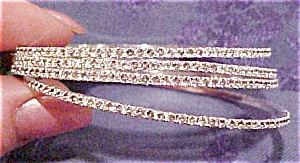 4 rhinestone bangles (Image1)