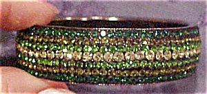 Contemporary rhinestone bangle (Image1)