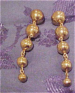 Sterling vermeil earrings (Image1)