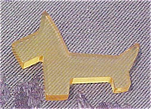 Applejuice Bakelite scottie dog (Image1)