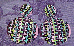 Mod Style contemporary earrings (Image1)