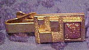 1960s signed modern design tie bar (Image1)