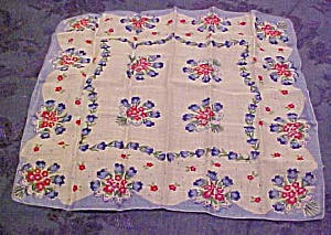 Pettifold Flower Handkerchief in box (Image1)