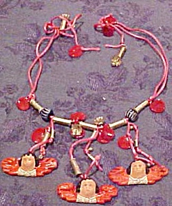 Angel necklace on cord (Image1)