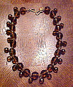 Blair Delmonico faceted glass bead necklace (Image1)