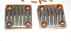 Copper earrings (Image1)