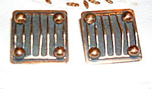 Copper earrings (Image1)