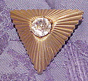 Mazer pin with rhinestone (Image1)