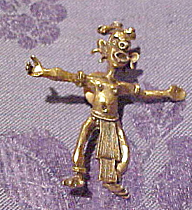 Tribal man pin (Image1)