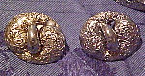 Silvertone earrings (Image1)