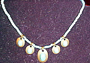 New faux turquoise necklace (Image1)