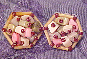 Bead earrings (Image1)
