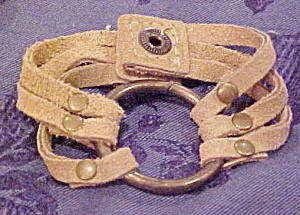 Contemporary suede cuff (Image1)