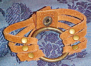 Contemporary suede cuff (Image1)