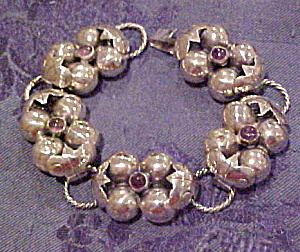 1940s Mexican Sterling bracelet (Image1)
