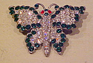 1920/30s butterfly pin (Image1)