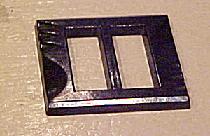 Black Bakelite buckle (Image1)
