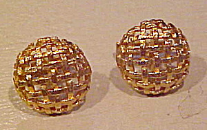 Woven design cufflinks (Image1)