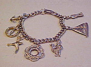 nautical theme charm bracelet (Image1)