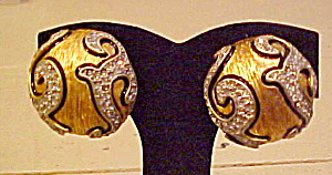 Contemporary earrings (Image1)