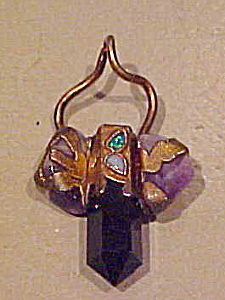 Amethyst crystal pendant (Image1)