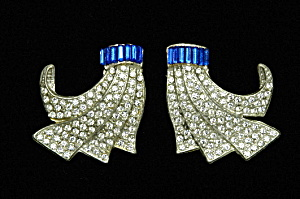 Art Deco dress clips (Image1)