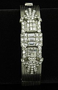 Art Deco hinged bangle (Image1)