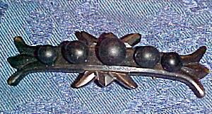 Victorian Jet Brooch (Image1)