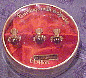 Abon earrings and a spare in box (Image1)