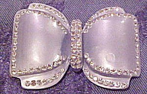 Blue Moonglow bow pin (Image1)