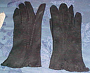 Black cotton gloves (Image1)