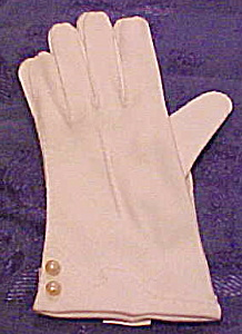 English cotton gloves with faux pearls (Image1)