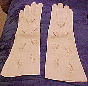 Leather gloves with cutouts (Image1)