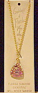 Florida Souvenir crystal necklace (Image1)