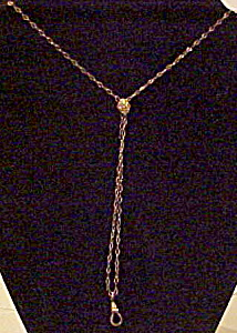 Slide watch chain necklace (Image1)