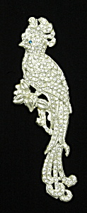 Art Deco Cockatoo Brooch (Image1)