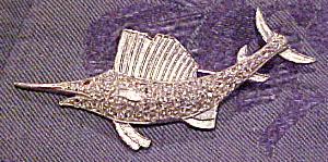 Vintage sailfish pin (Image1)