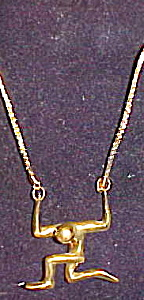 Modernist 1980s necklace (Image1)