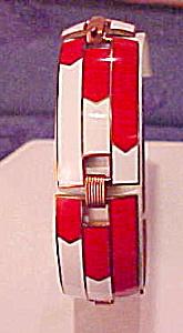 Art Deco enamel bracelet (Image1)