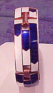 Art Deco style enamel bracelet (Image1)