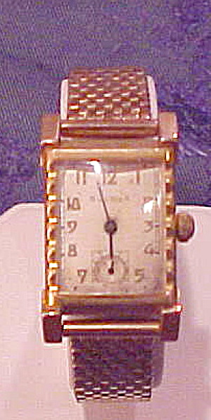 Bulova 10k Gold Filled Watch