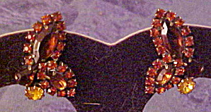 Weiss rhinestone earrings (Image1)