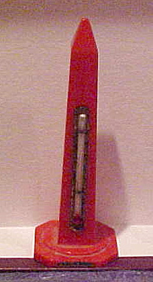 Washington Monument Bakelite Thermometer (Image1)