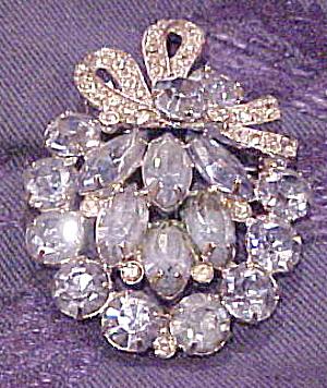 Eisenberg Ice rhinestone brooch (Image1)