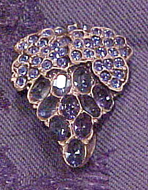 Grape design dress clip (Image1)