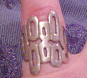Sterling modern design ring (Image1)