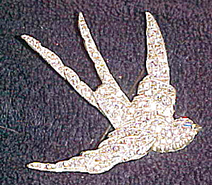 Art Deco bird brooch (Image1)