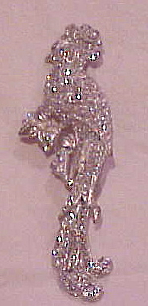 Cockatoo Rhinestone Brooch