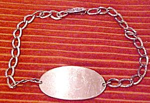 Sterling ID bracelet (Image1)